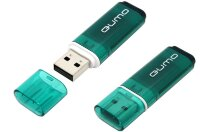 Флешка USB 2.0 QUMO 4GB Optiva 01 Green [QM4GUD-OP1-green]