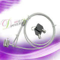 PC NOTEBOOK LAPTOP LOCK SECURITY CABLE